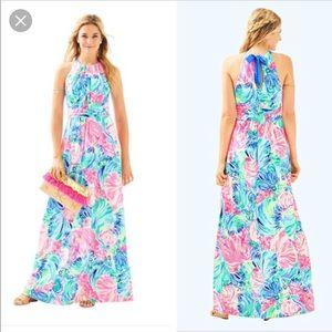 Lilly Pulitzer Martina maxi dress xs